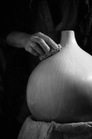 Atelier raku à Montpellier